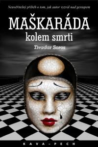 maskarada kolem smrti, obal knihy